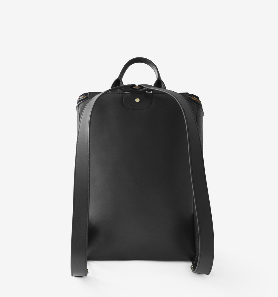 Kyoto Backpack Black - Von-Röutte Leather Sneakers