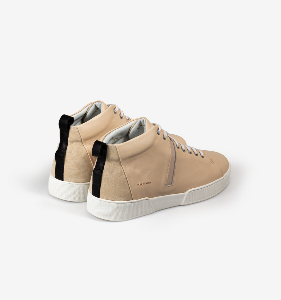 Milford High Top Sneakers Cream