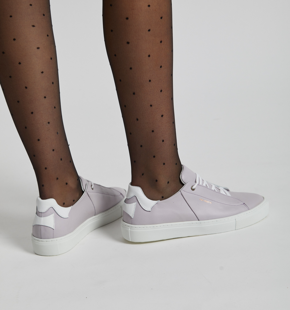 Siena Sneaker Lilac - Von-Röutte Leather Sneakers