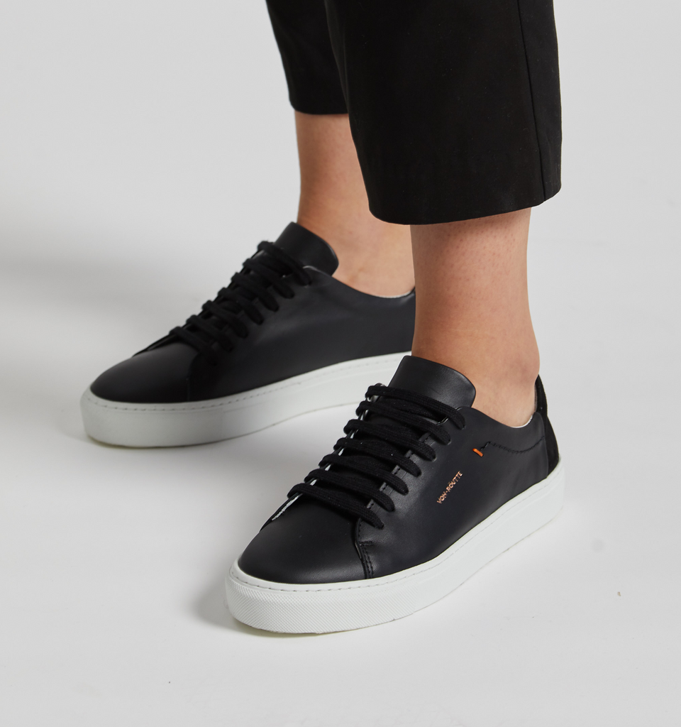 Lyon Sneaker Black - Von-Röutte Leather Sneakers