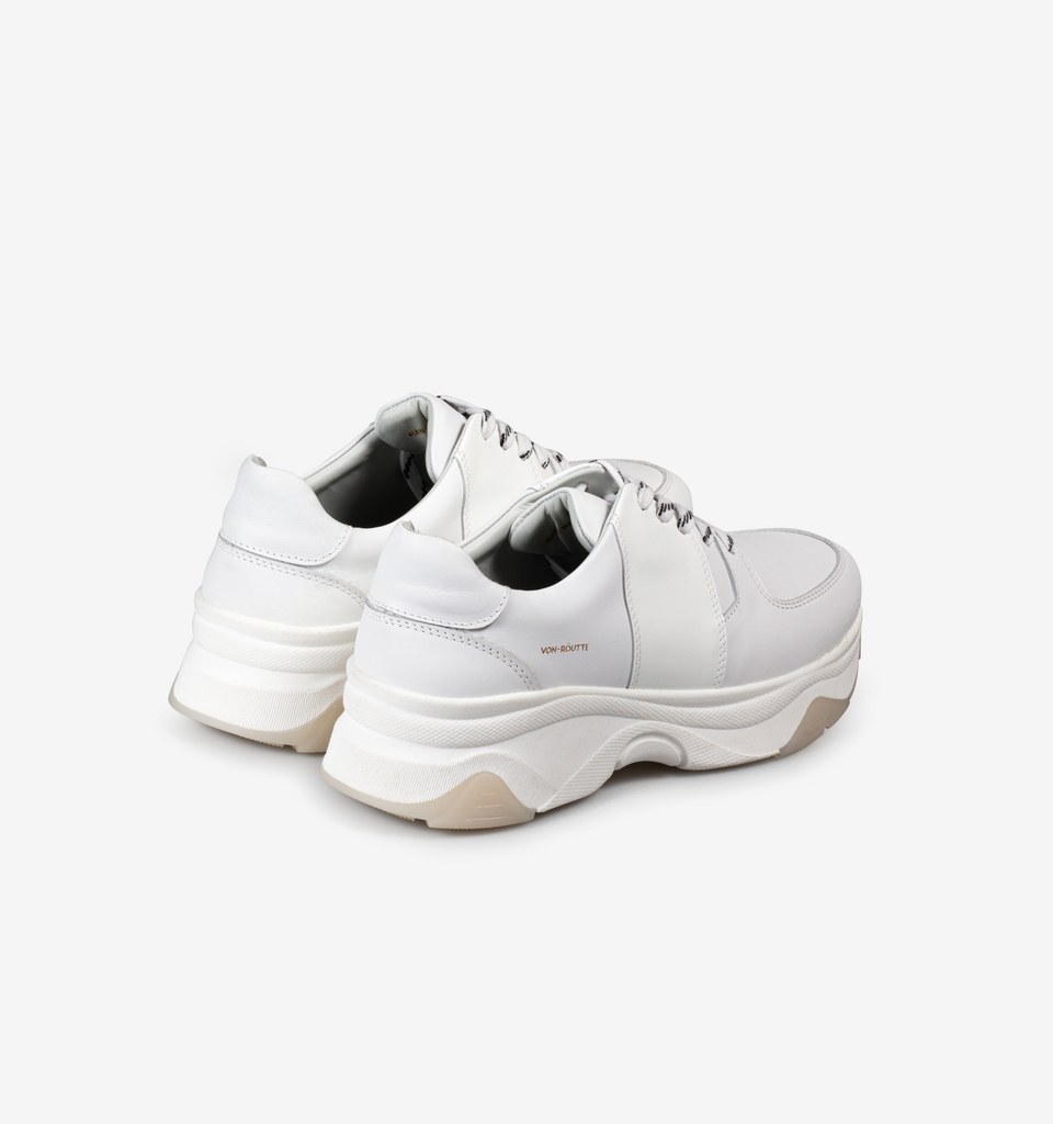 Austin Chunky Sneakers White Patent