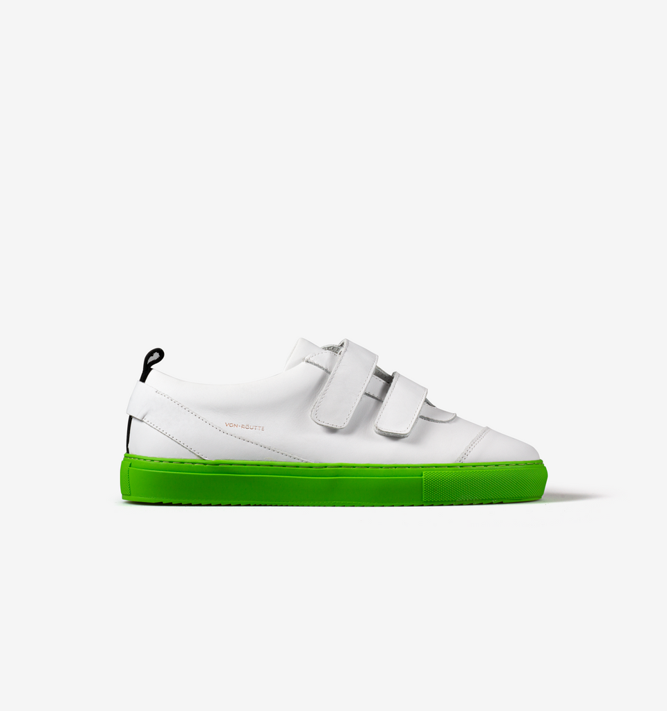 Kiso Velcro Sneakers White Mint
