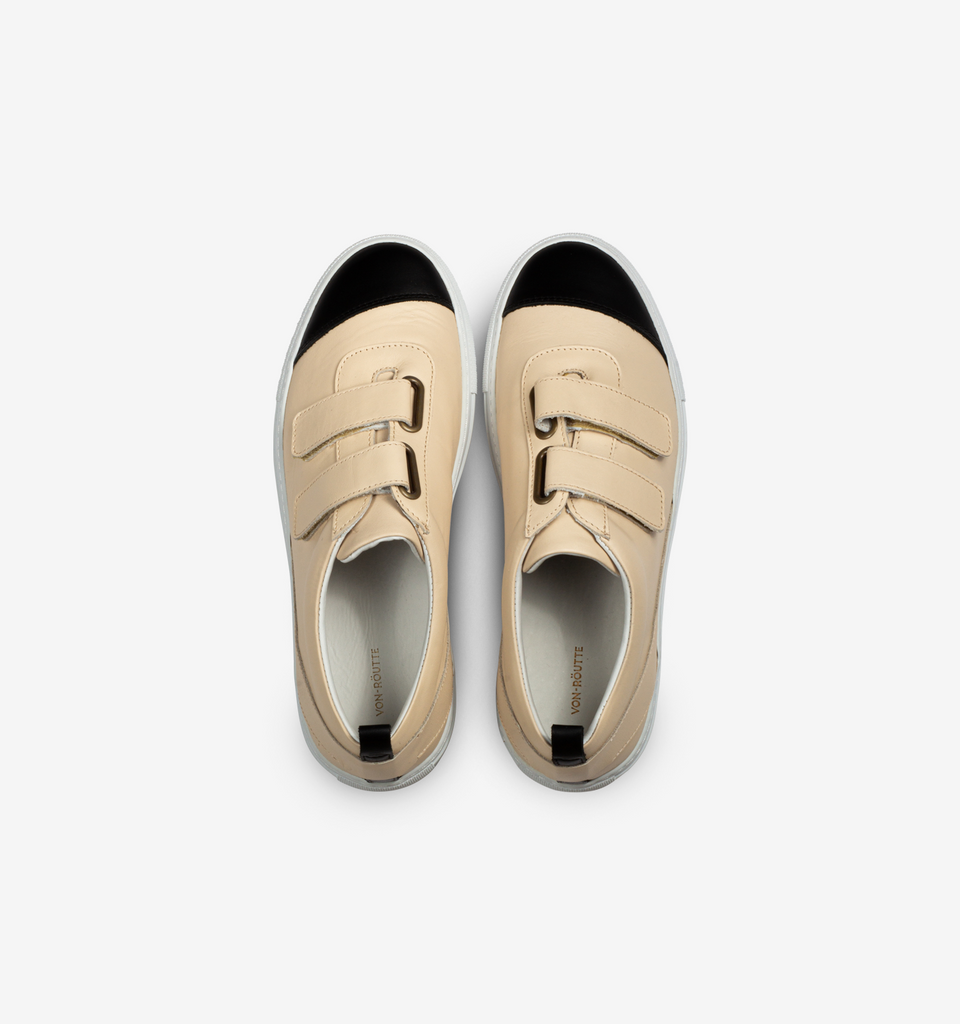 Kiso Velcro Sneakers Cream