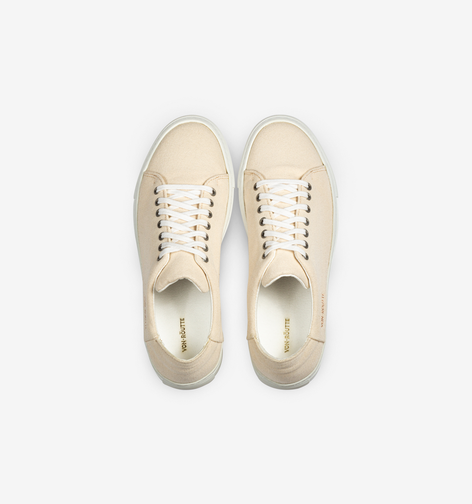 Lyon Canvas Sneaker Cream