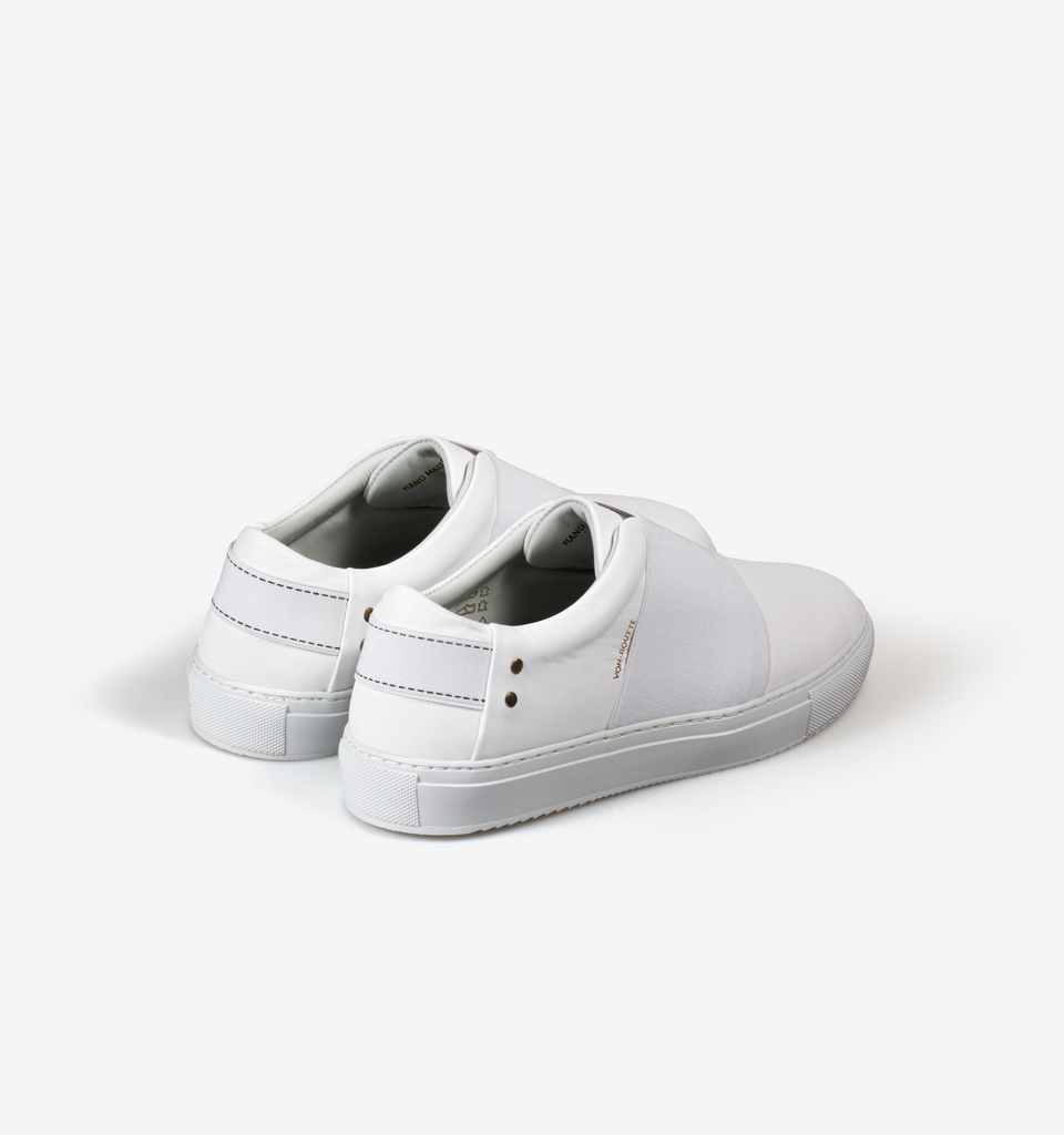 Rochelle Slip On Sneaker All White