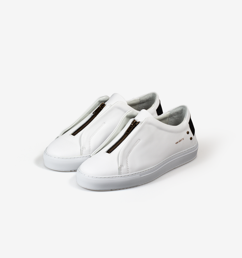 Sauipe Zipper Shoes White