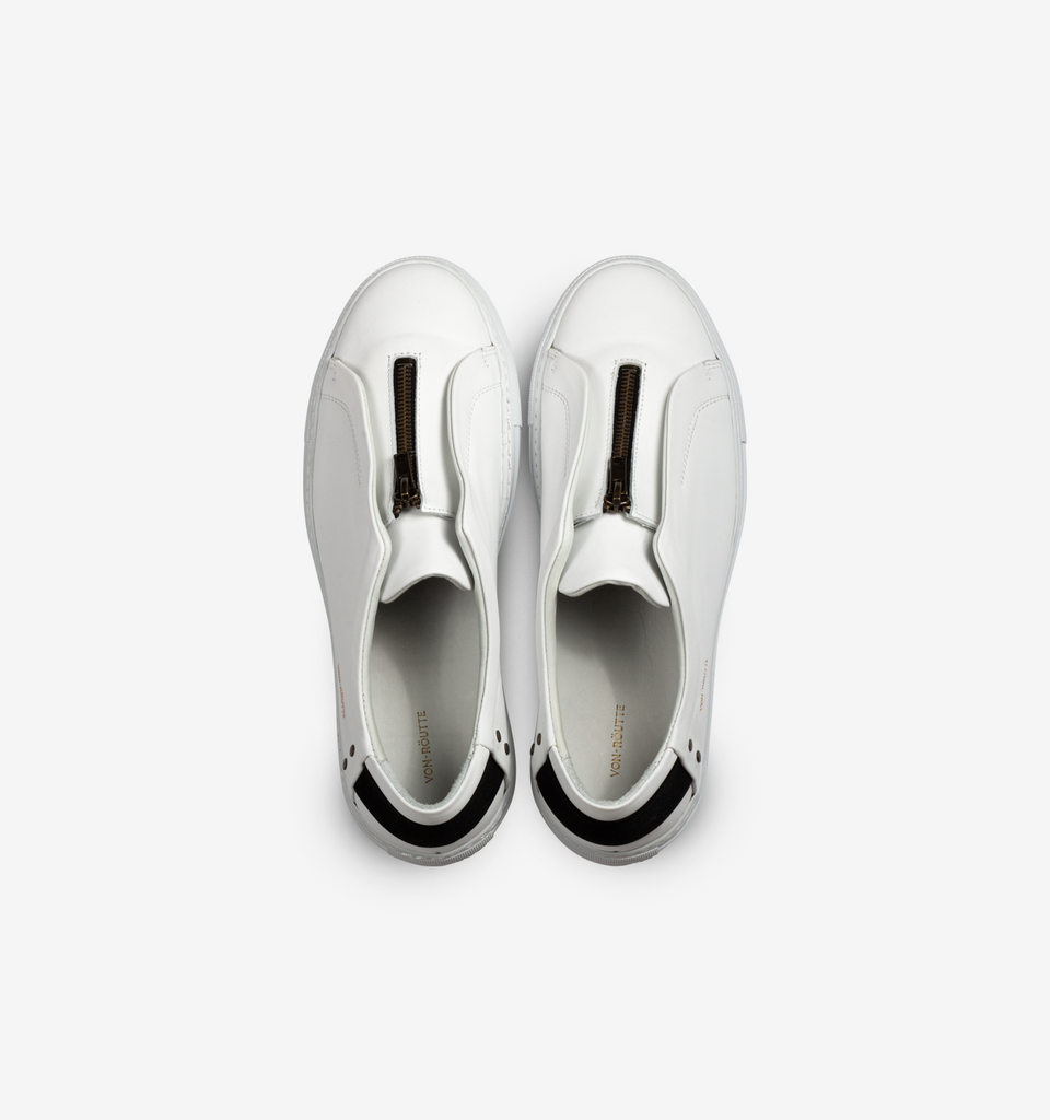 Sauipe Zip Shoes White