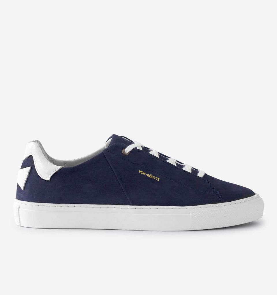 Siena Sneaker Navy - Von-Röutte Leather Sneakers