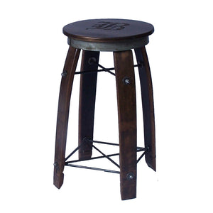 "2-DAY DESIGNS 24"" LAISY DAISY STAVE STOOL"