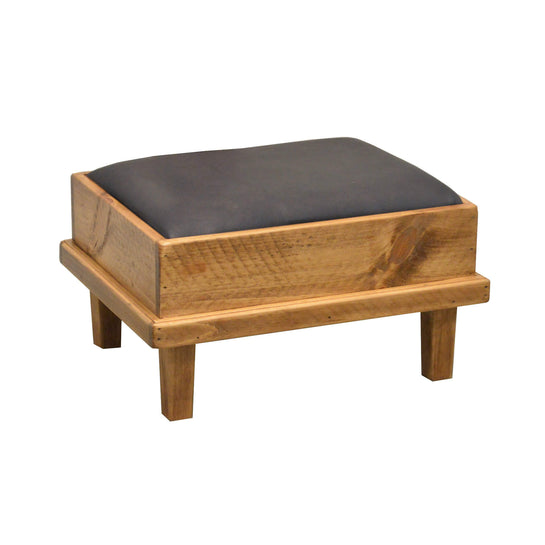 2-DAY DESIGNS CUSHIONED FOOTSTOOL