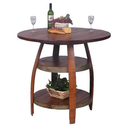 2-Day Designs Barrique Bistro Table
