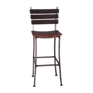 "2-DAY DESIGNS 30"" STAVE BACK AND SEAT BAR STOOL"