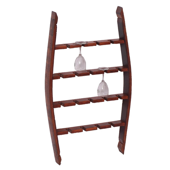 2-DAY DESIGNS COLLECTOR'S GLASS RACK