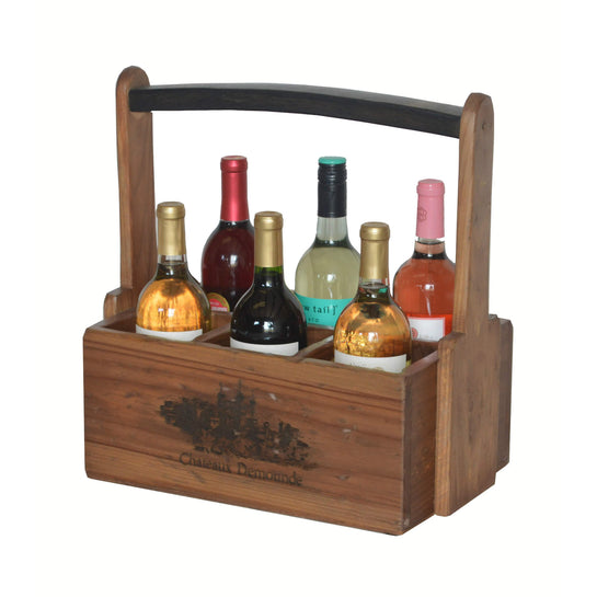 2-DAY DESIGNS 6 BOTTLE CADDY