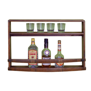 2-DAY DESIGNS SPIRITS WALL RACK