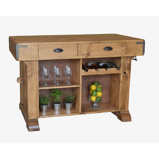 2-DAY DESIGNS SANTA MARIA KITCHEN ISLAND