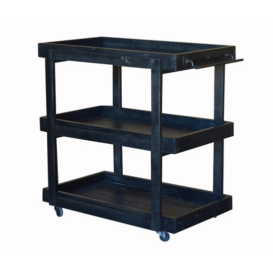 2-Day Designs Rolling Bar Cart