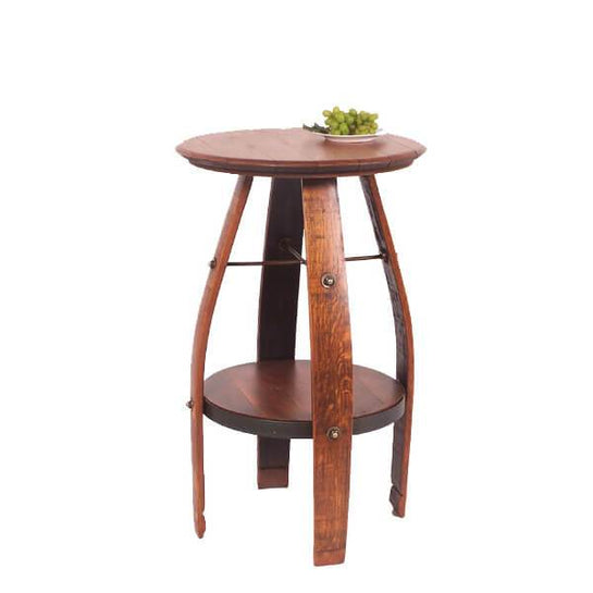 2-Day Designs Wine Barrel Bistro Table