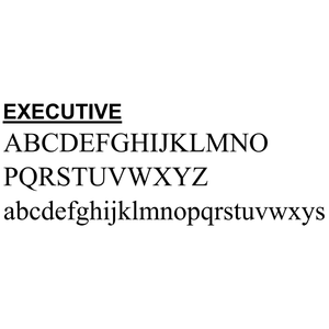 2-Day Designs Executive Font