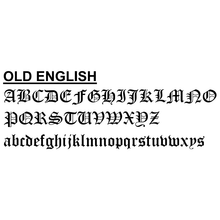 2-Day Designs Old English Font