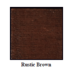 Urban Woods Rustic Brown Stain Color