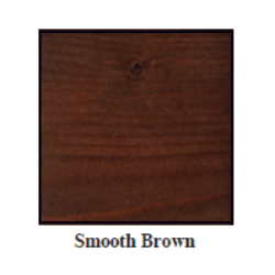 Urban Woods Smooth Brown Stain Color