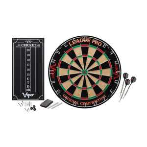 Viper League Pro Sisal Dartboard Kit