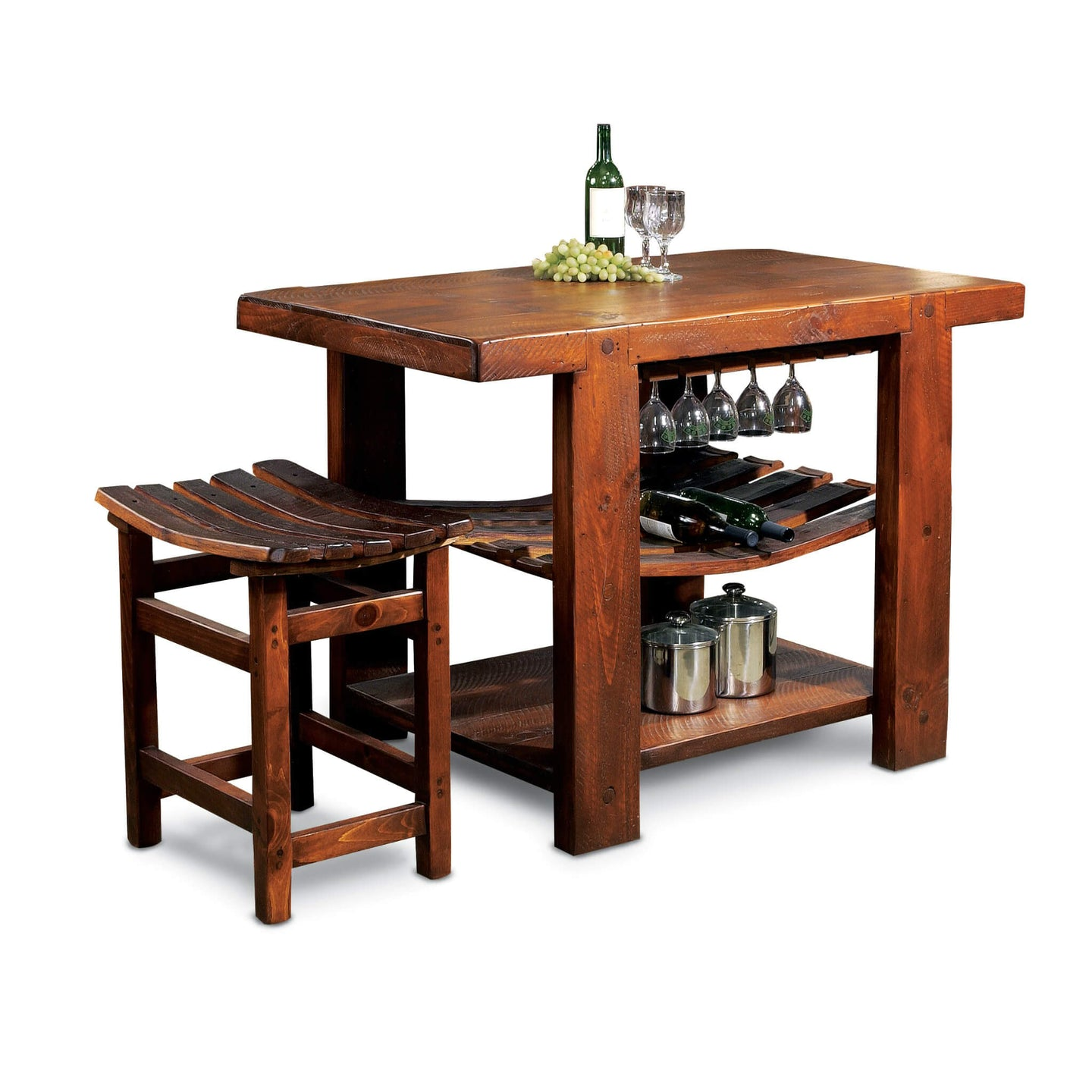 2-DAY DESIGNS RUSSIAN RIVER KITCHEN ISLAND