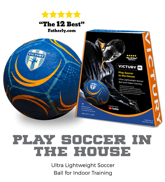 VICTURY V1 Soccer Ball and Training Video