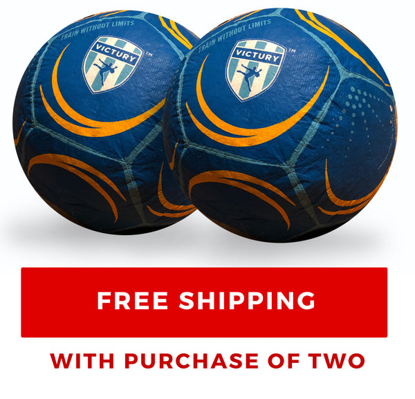 **WE SOLD OUT AGAIN! PRE-ORDER Two (2) VICTURY V1 Soccer Balls