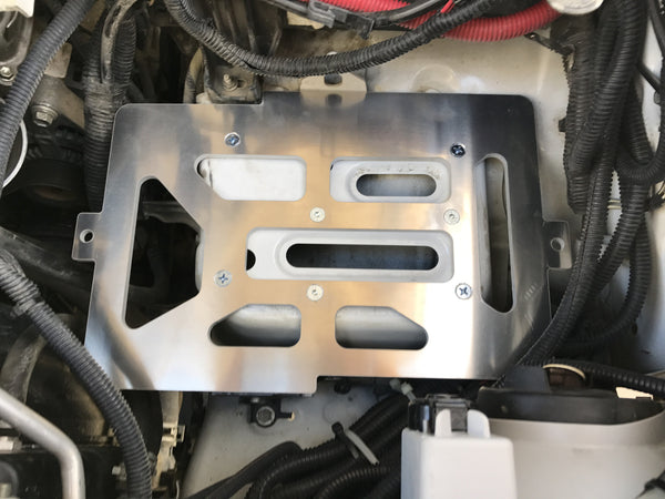"2005 - Current Toyota Tacoma Dual Battery Tray ""Side-by-Side"""