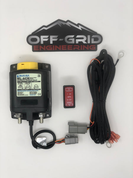 Off Grid Engineering/ Blue Sea Systems ML-ACR and wiring harness kit