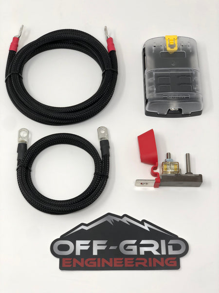 Auxiliary Fuse Box with OGE Installation Kit