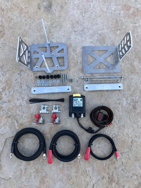 2004 toyota tacoma dual battery kit