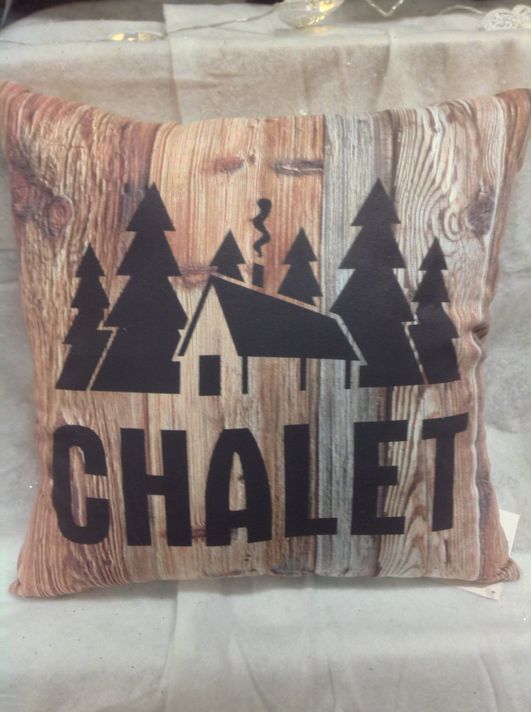 coussin chalet