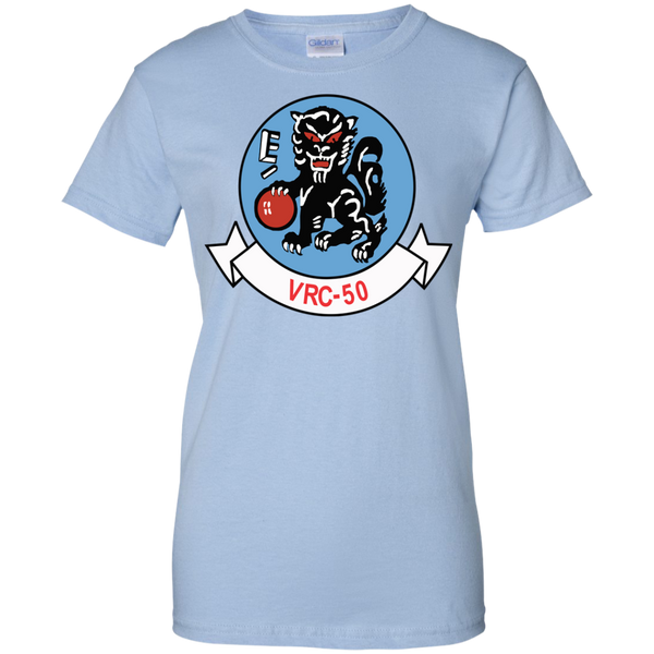 VRC 50 3 Ladies Custom Cotton T-Shirt