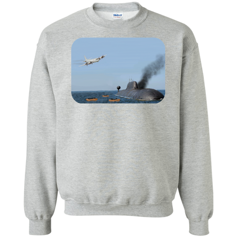 Abandon Ship Crewneck Pullover Sweatshirt