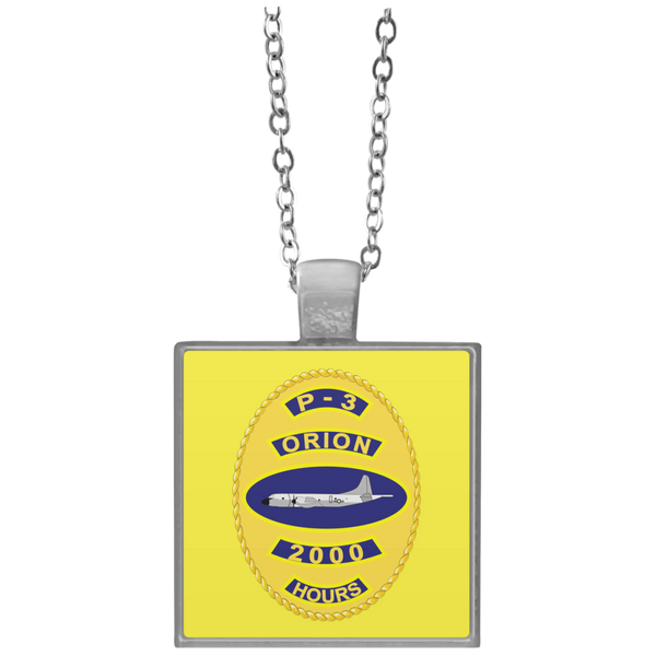 P-3 Orion 10 2000 Square Necklace