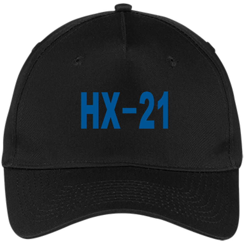 HX 21 3 Five Panel Twill Cap