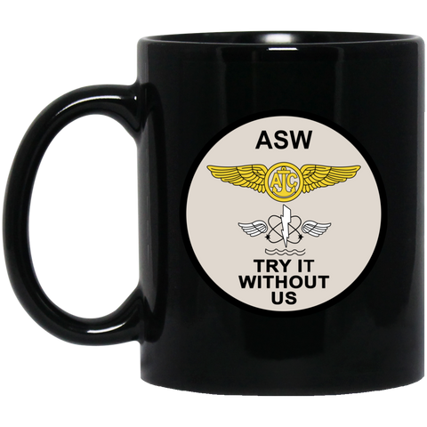 ASW 01 Black Mug - 11oz