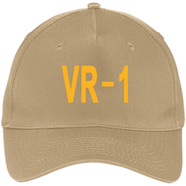 VR 01 3 Five Panel Twill Cap