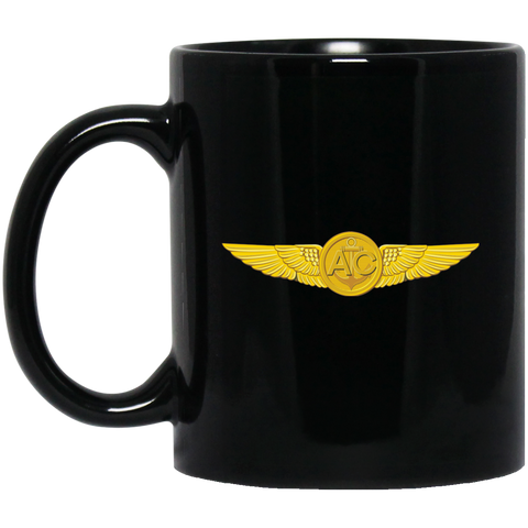 Aircrew 1 Black Mug - 11oz