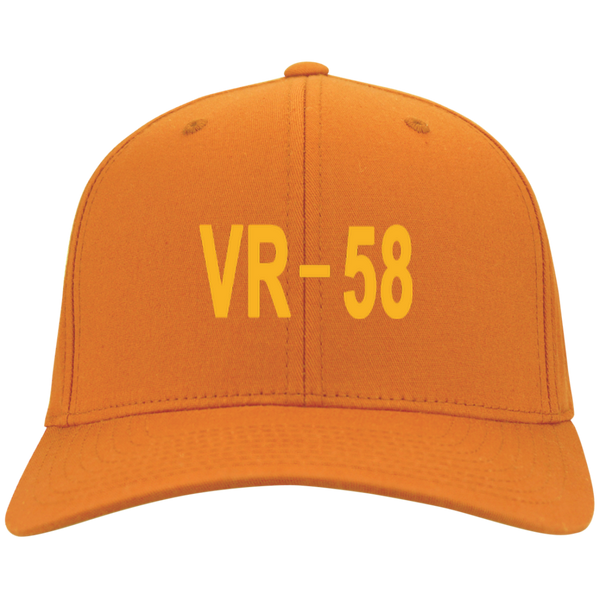 VR 58 3 Flex Fit Twill Baseball Cap