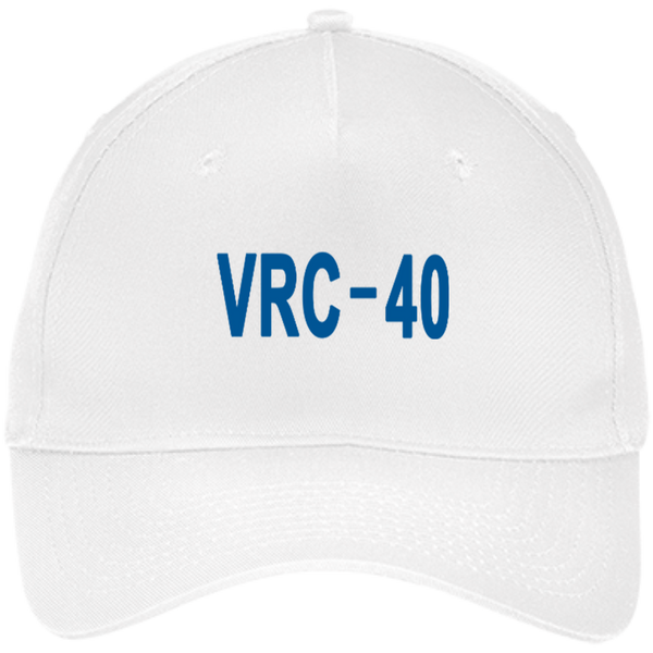 VRC 40 3 Five Panel Twill Cap