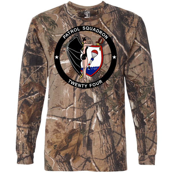 VP 24 2 Long Sleeve Camo T-Shirt