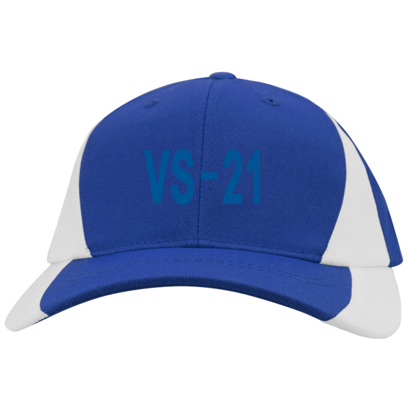 VS 21 3 Mid-Profile Colorblock Hat