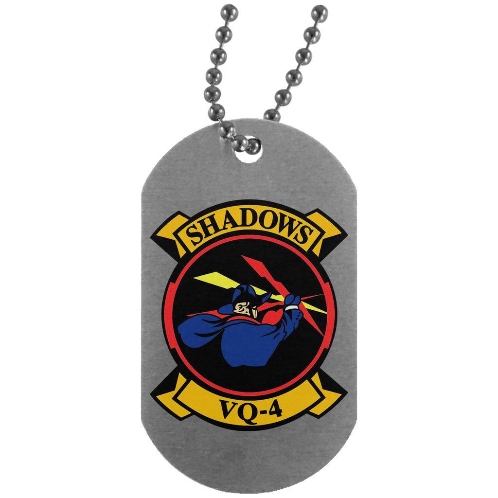VQ 04 1 Dog Tag - Silver