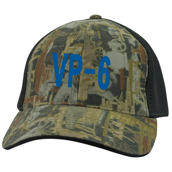 VP 06 3 Camo Cap with Mesh