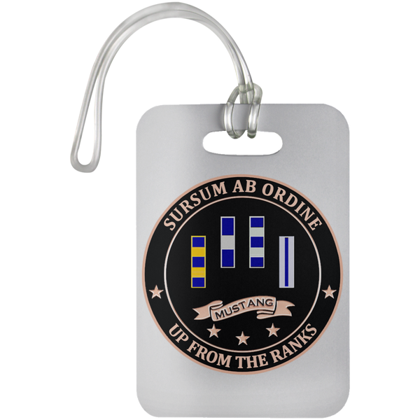 Up From The Ranks 1 Luggage Bag Tag