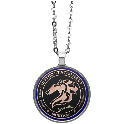 Mustang 1 Circle Necklace